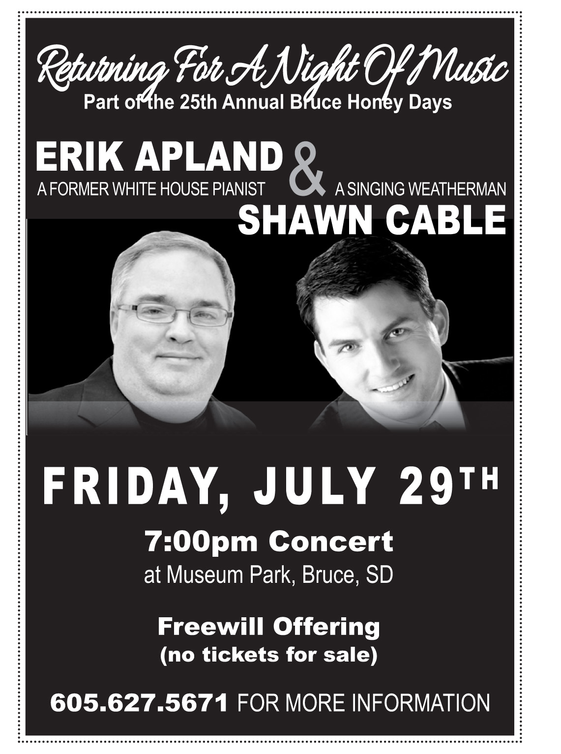 Apland/Cable concert!!