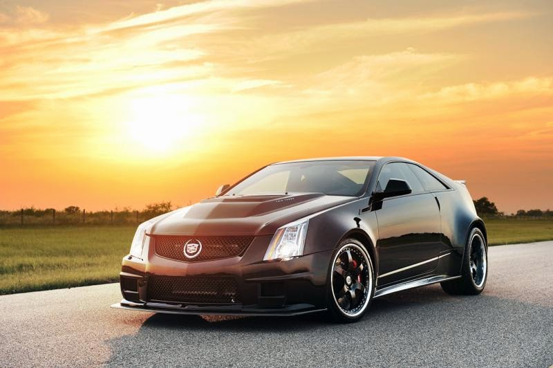 Cadillac CTS-V Twin Turbo Coupe