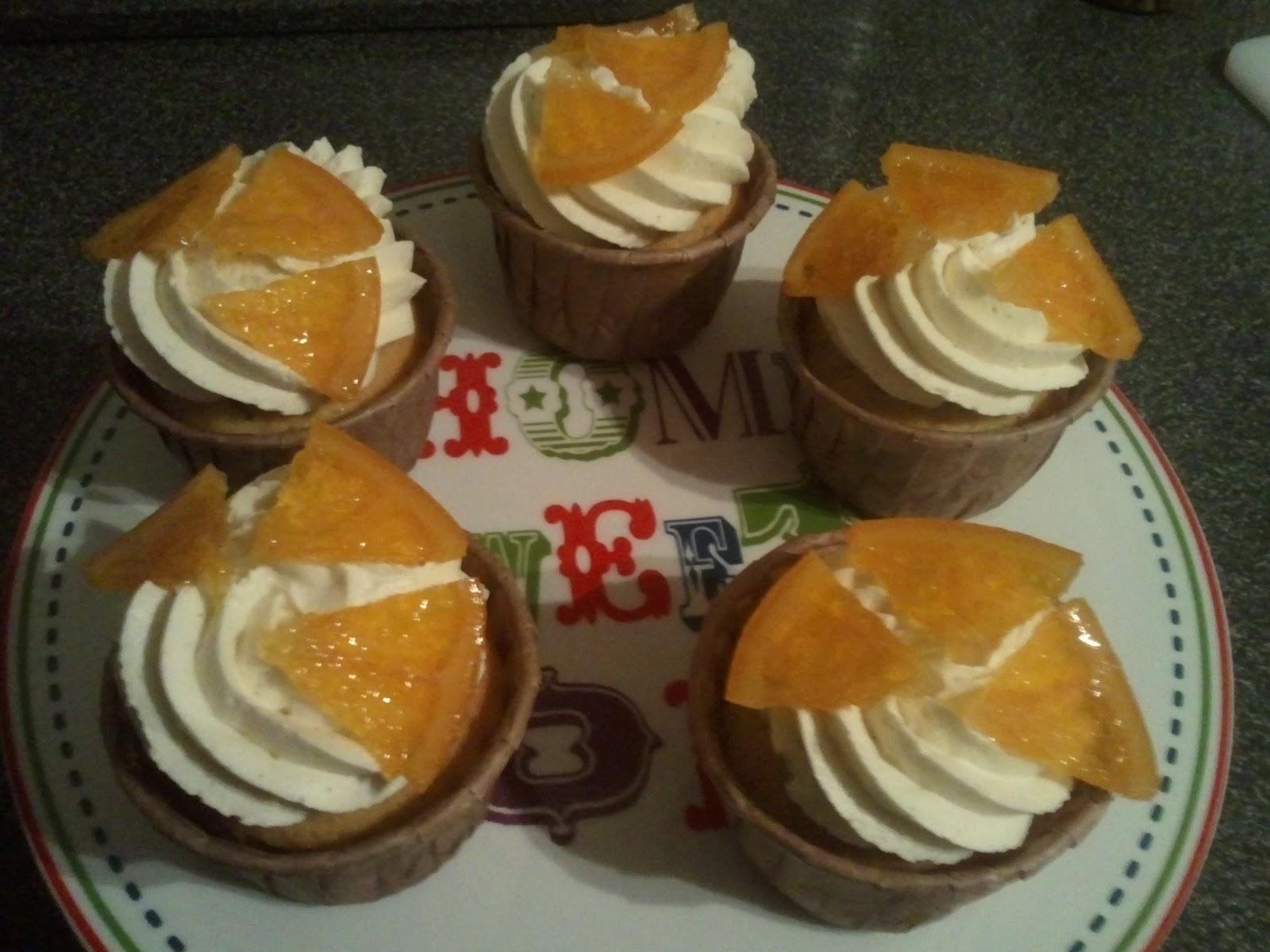 Cake Fairy Blog: Orange and Vanilla Bean Cupcakes