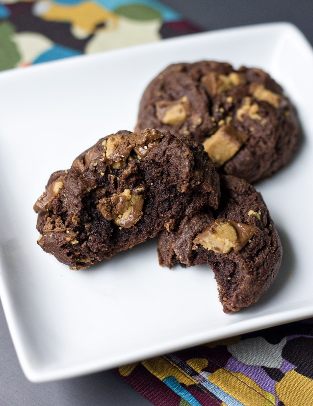 Chocolate Peanut Butter Cup Cookies To this type of chocolate,