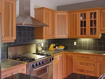 Homes Modern Wooden Kitchen Cabinets Designs Ideas.