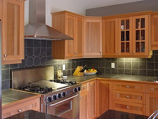 New home designs latest homes modern wooden kitchen for Kitchen design pakistan
