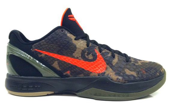 kixionary world nike zoom kobe 6 �italian camo�