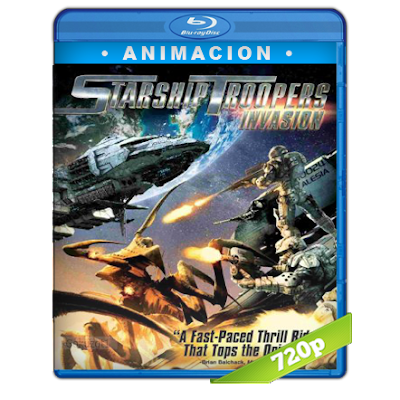 Starship Troopers Invasion (2012) BRRip 720p Audio Trial Latino-Castellano-Ingles 5.1