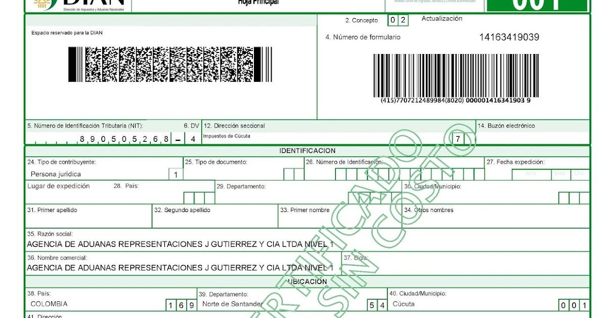 Pensamiento contable requisitos cancelaci n registro for Formulario desistimiento