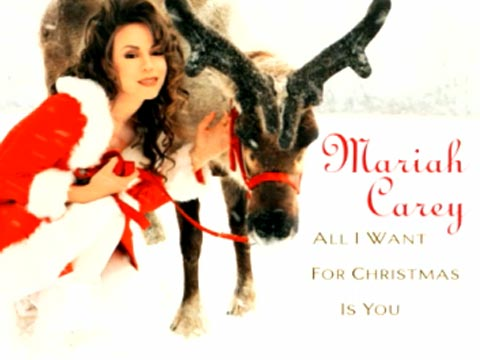 "Mariah Carey ""All I Want for Christmas Is You"" Lyrics ..."