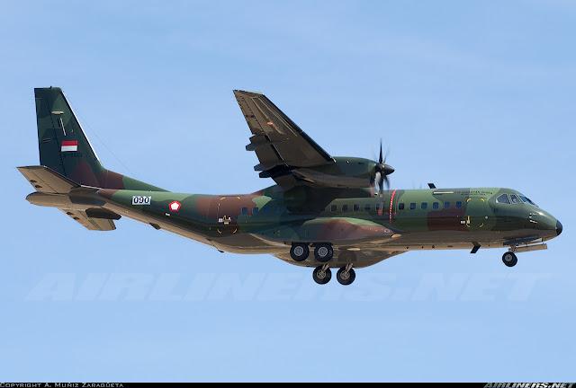 Pesawat CN-295 TNI AU