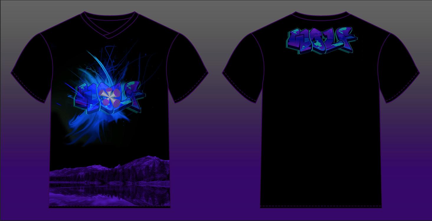 Design t shirt back - Men S T Shirt Design Front And Back Wolf