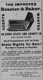 Leach Roaster & Baker Co. 1888 Ad