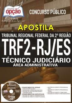 Apostila Concurso TRF 2 2017 Técnico Judiciário