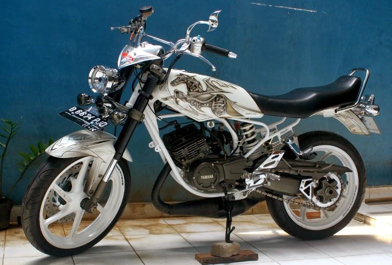 Modifikasi RX King - Gambar Motor RX King Modif Drag Airbrush title=