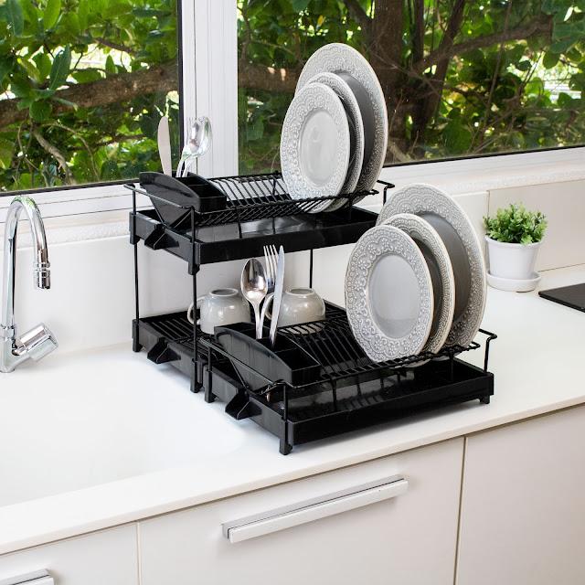 Escorredor de pratos Aramado Dry Triplo