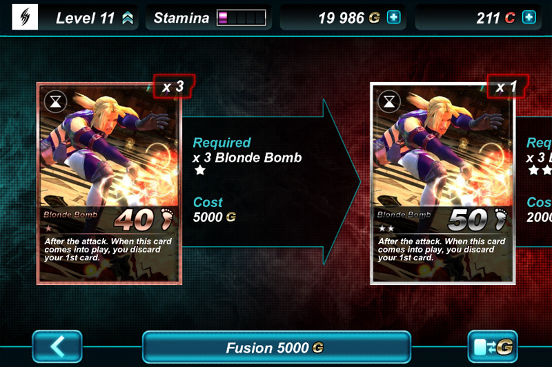 Tekken Card Screen Shot Capture