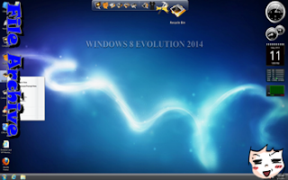 Windows 8 Evolution Edition 2014 (x86) Full Version Terbaru