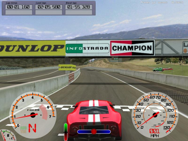 Torcs racing jogo corrida PC