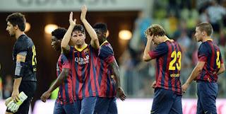 Barcelona Imbang 2-2