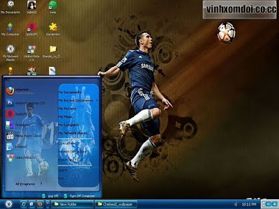 Chelsea Theme For Windows XP