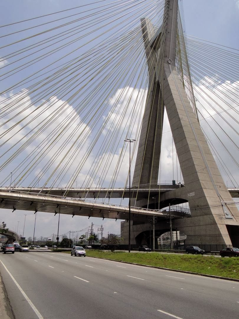 The X-shaped Bridge | Octávio Frias de Oliveira Bridge