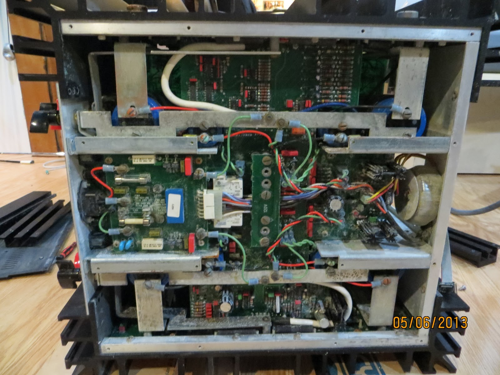 Restoring Mark Levinson No. 331 Power Amp from Water Damage