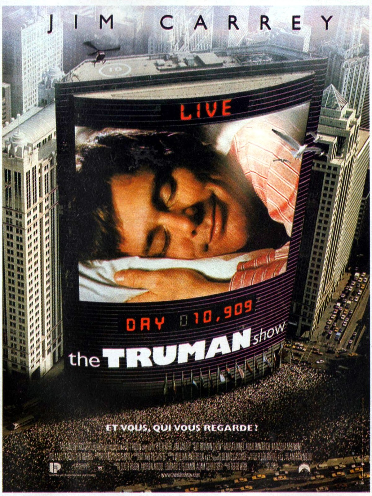 the truman show belonging Say what you will about president harry truman, but at least he didn't leave the white house a suspiciously rich man he also actually went home, to.