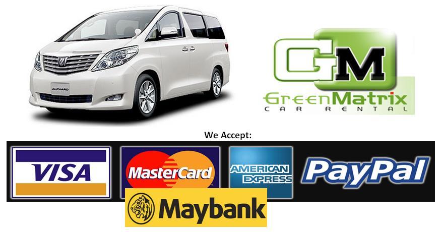 WELCOME TO CAR RENTAL AND VAN RENTAL, KUALA LUMPUR, JOHOR BAHRU AND PENANG,  MALAYSIA