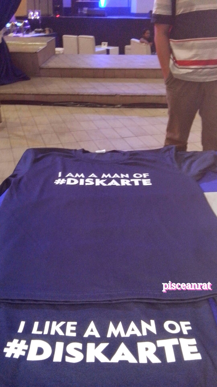 i am a man of #diskarte, t shirt,