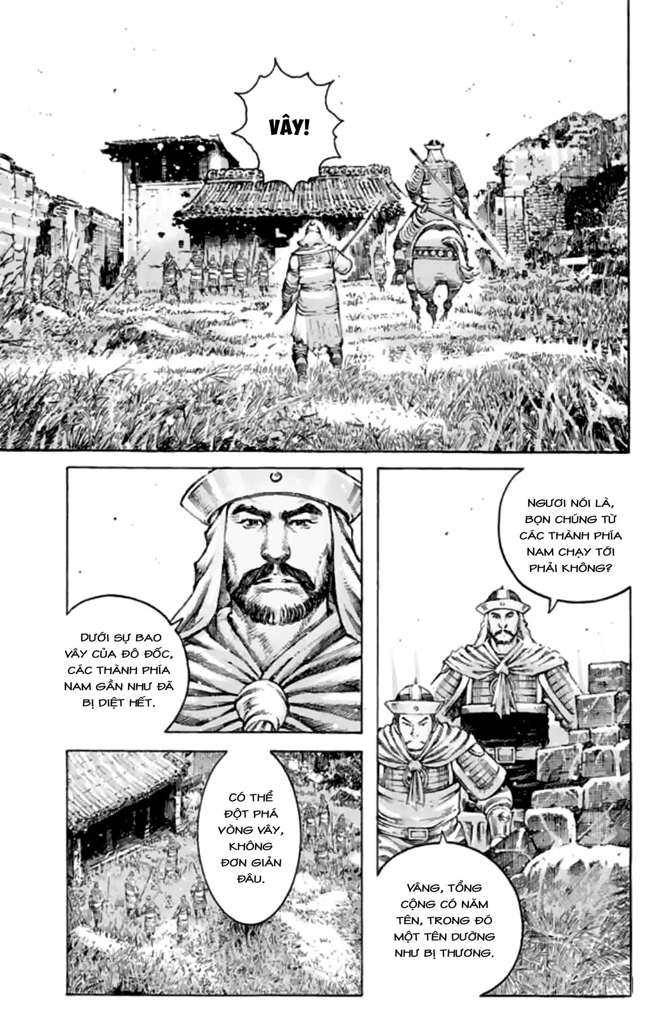 Hỏa Phụng Liêu Nguyên chap 486 Trang 4 - Mangak.info