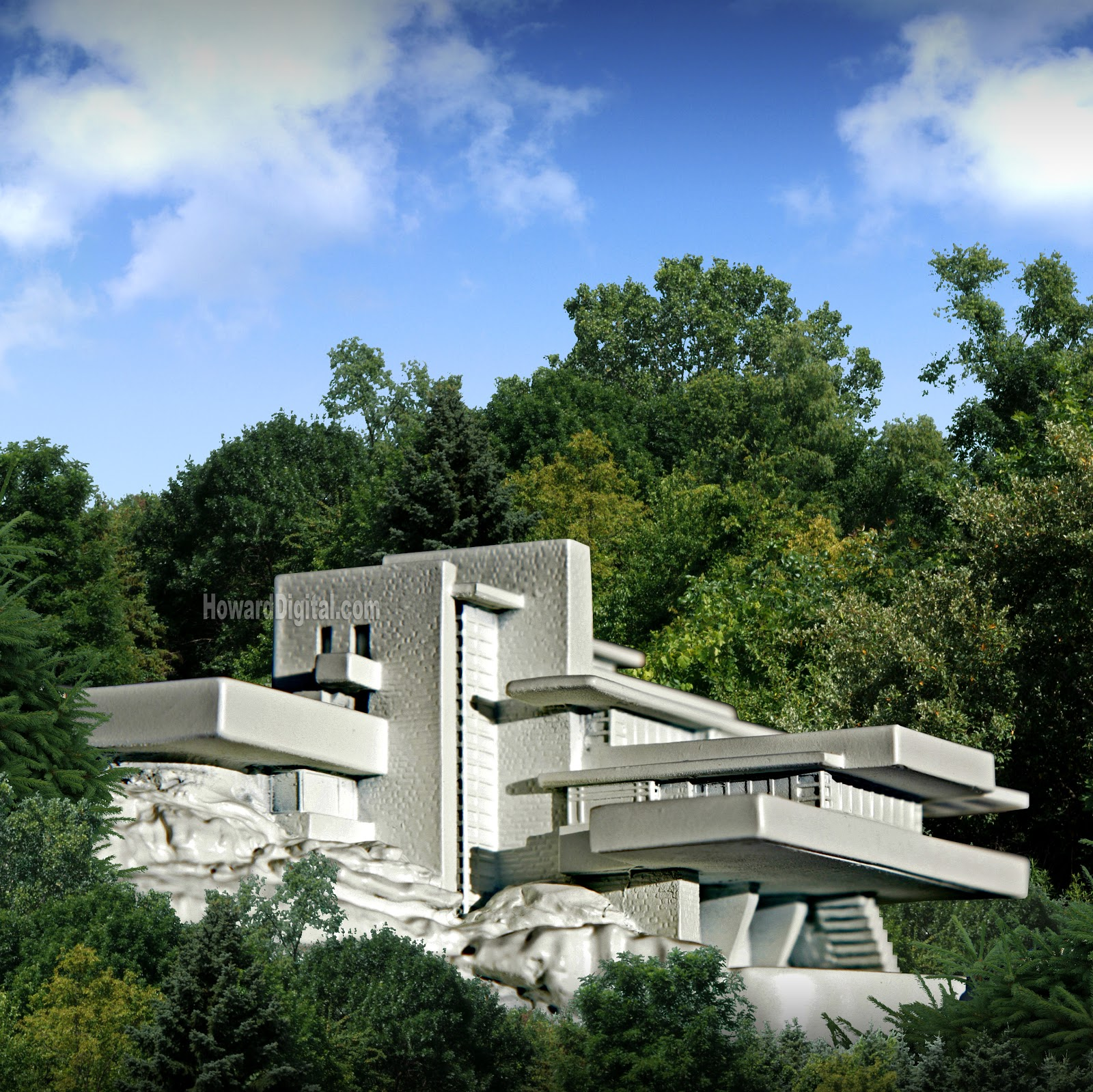 Modern Architecture Frank Lloyd Wright architecture as aesthetics: fallingwater