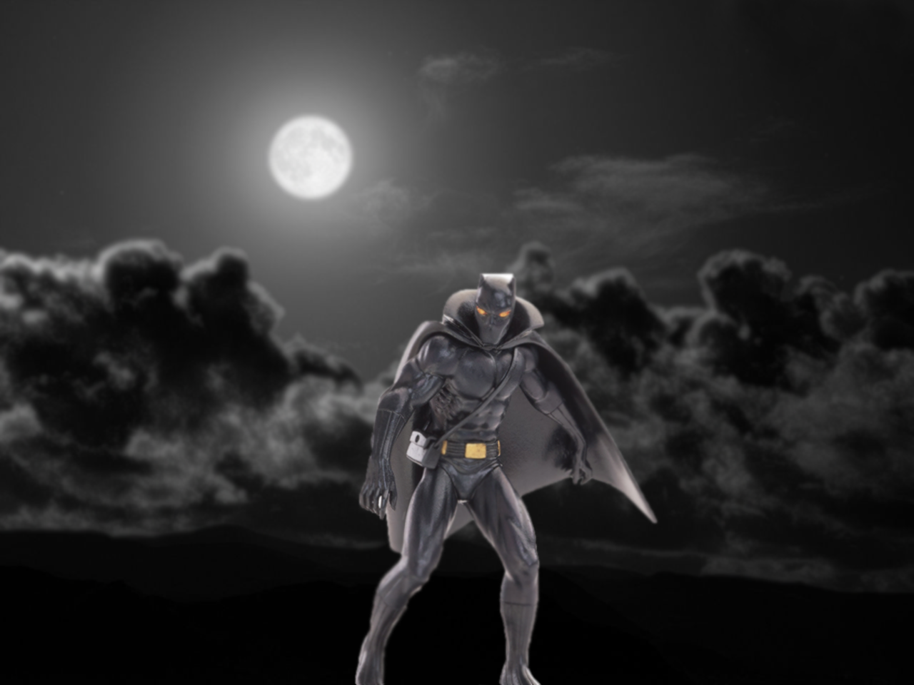 miniatura pantera negra marvel eaglemoss