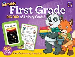 Learnalot's 1st Grade Activity Card Set