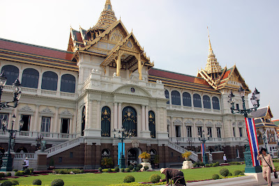 Royal Hall - Grand Palace in Bangkok - Thailand