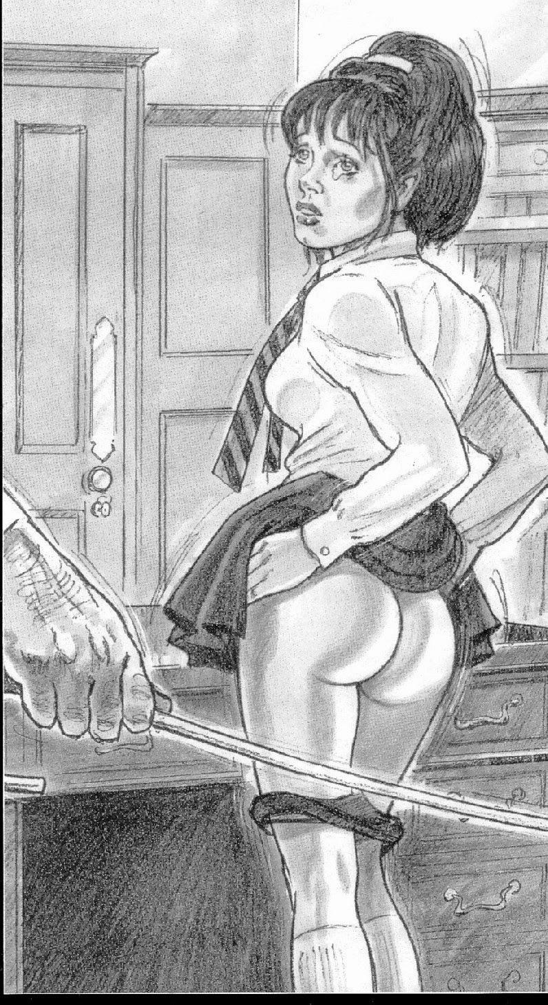 Erotic punishment spanking