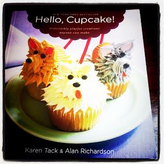 I simply LOVE Hello Cupcake baking book