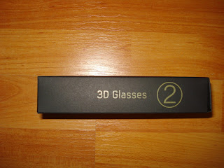 Samsung UE32EH6030 3D glasses box
