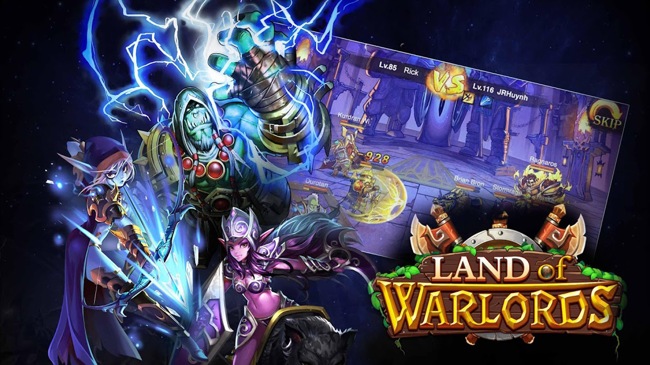 Land of Warlords Gameplay IOS / Android