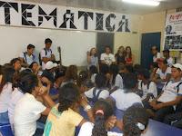 Reunião inicial com os alunos, 08/09/2014