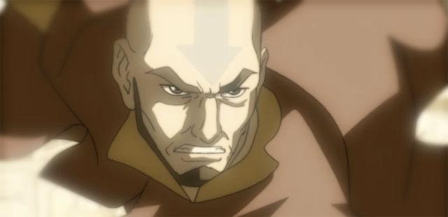 Korra Flashback to Aang