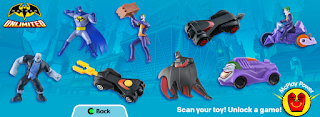 Batman Unlimited Happy Meal toys