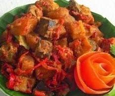 resep sambal goreng ati ampela
