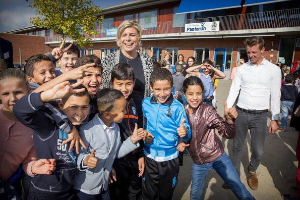 HRH Princess Laurentien At Day Of Sustainability