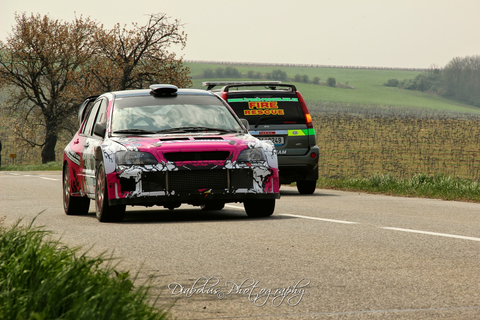Mitsubishi WRC 05 - Veronika Cichá