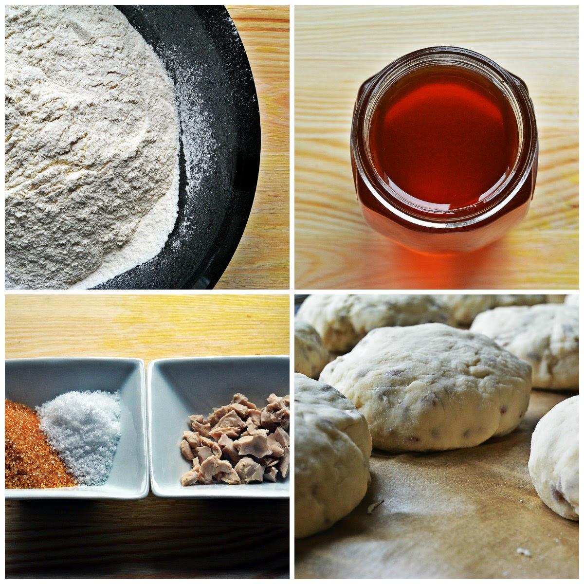 Bułeczki z siemieniem lnianym - składniki