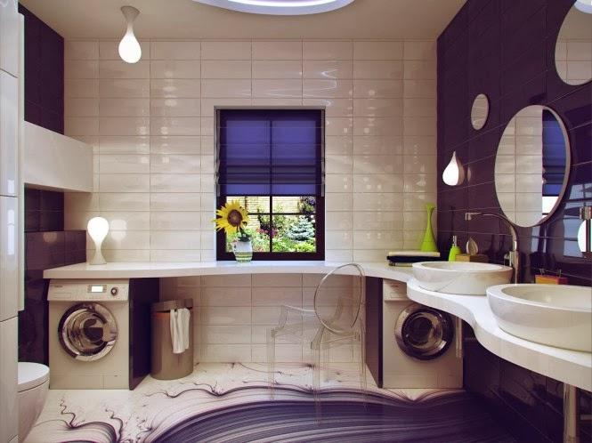 Petite salle de bain design