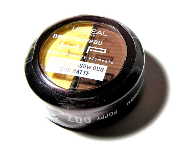 L'oreal HiP High Intensity Pigments Matte Shadow Duo in 807 Poppy