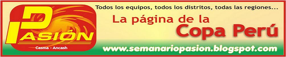Semanario Pasión - Copa Perú