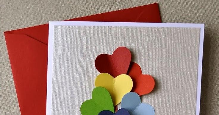 Изготовление открытки своими руками с детьми