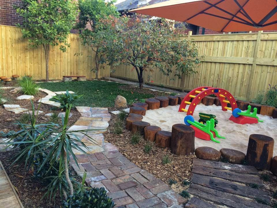 Let the children play just add sand for Children friendly garden designs