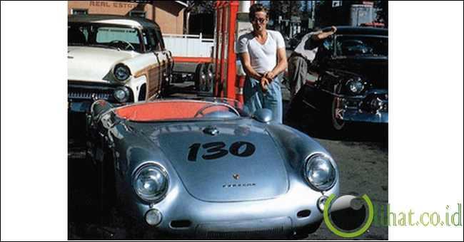 James Dean Porsche Spyder