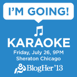 BlogHer Karaoke Party!