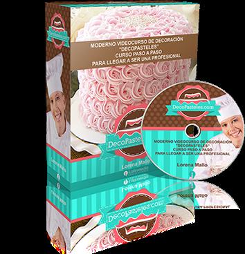 Videocurso de decoración de pasteles